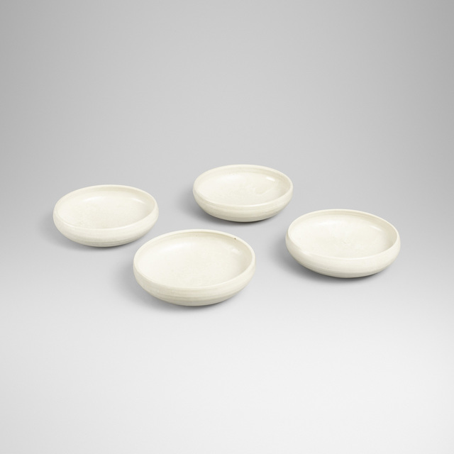 Aage and Kasper Wurtz, 'shallow bowls, set of four', Wright