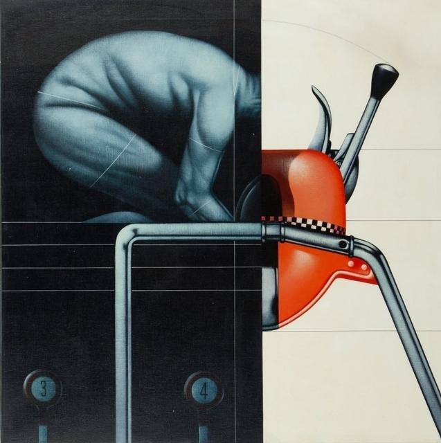 Sergio Sarri, 'Esercizio all'attrezzo', 1972, Aste Boetto