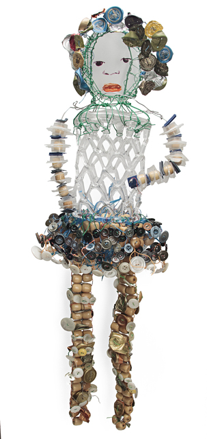 , 'CAGE GLASS GIRL,' 2015, Traver Gallery