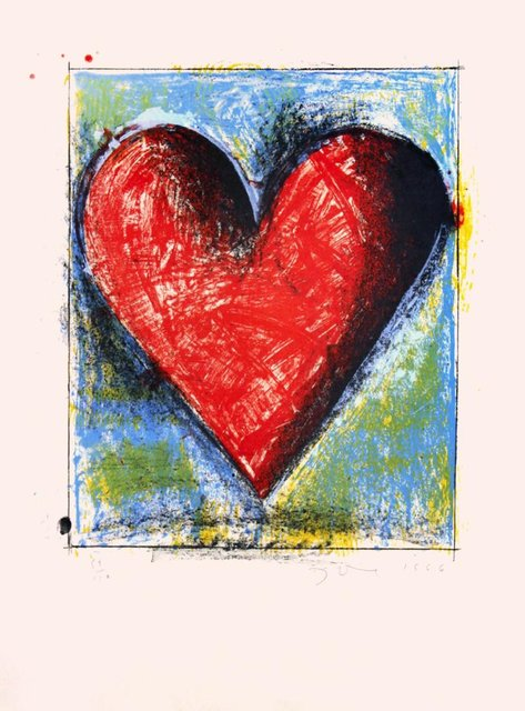 Jim Dine, 'Carnegie Hall Heart', 1986, Kunzt Gallery