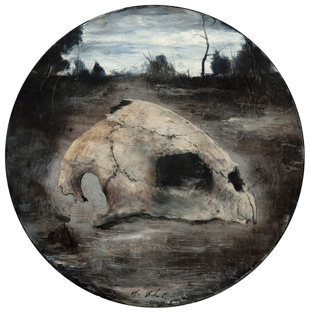 , 'Turtle Skull,' 2016, Valley House Gallery & Sculpture Garden