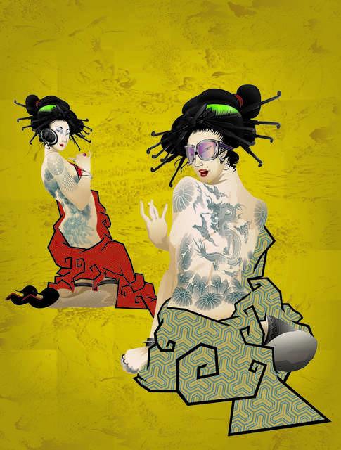 Billy Ma, 'Geisha Girls', 2013, Addicted Art Gallery