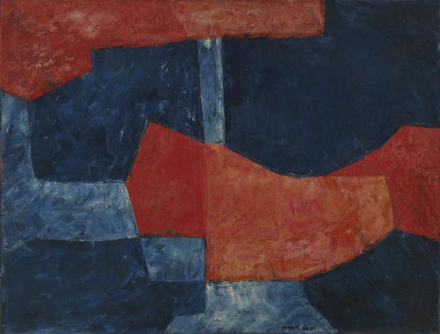 Serge Poliakoff, 'BLEU ET ROUGE', 1964, Cheim & Read