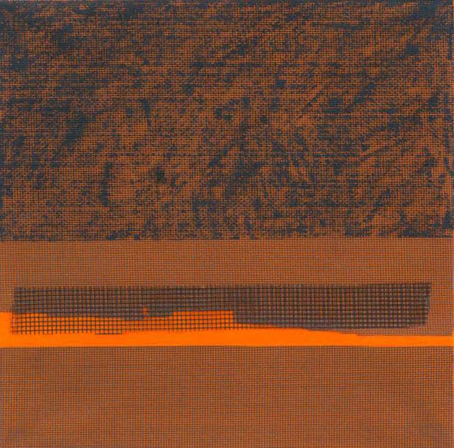 , 'Orange Stripe,' 2015, InLiquid