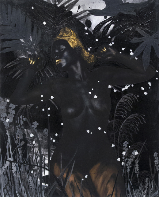 Lina Iris Viktor, 'We met the World Halfway, then Merged Infinitely.. No IV (The Dark Continent Series)', 2016, Mariane Ibrahim Gallery
