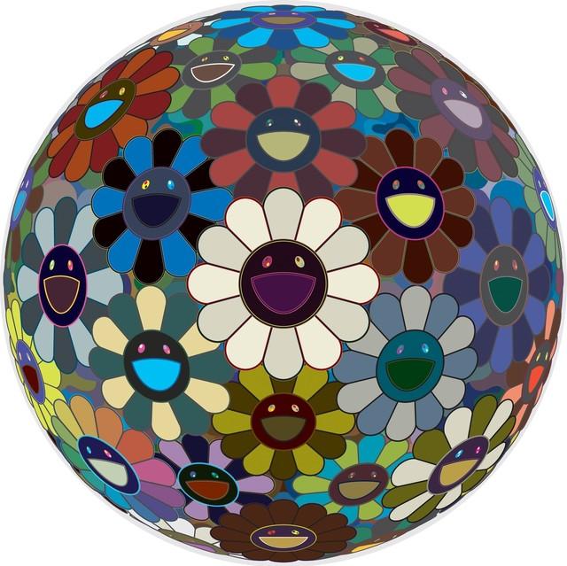 Takashi Murakami, 'Flowerball Black,' 2007, Gagosian Gallery