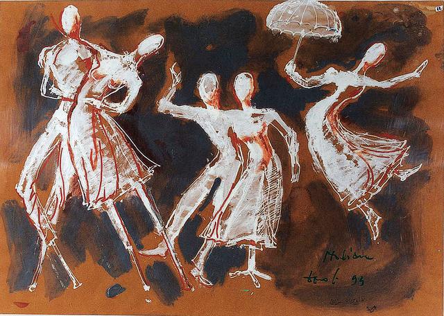 , 'L'Italiana in Algeri,' 1994, DIE GALERIE