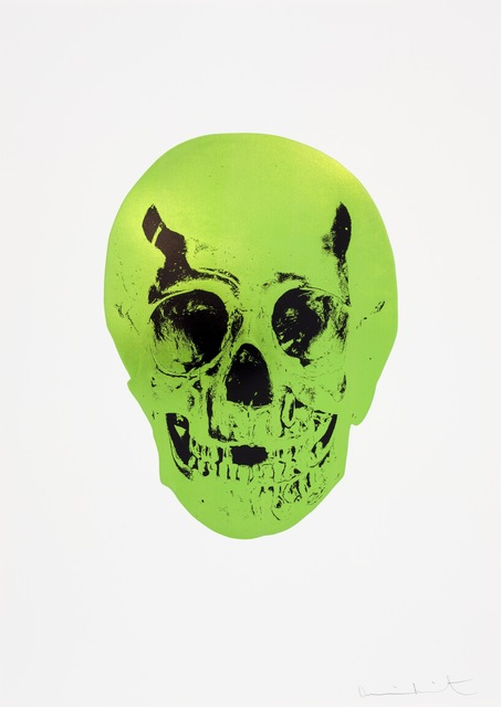, 'The Sick Dead: Lime Green/Raven Black,' 2009, Paul Stolper Gallery