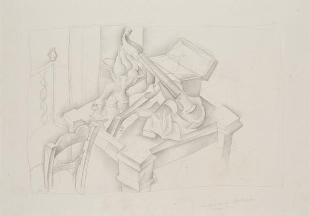 , 'Still life,' 1925, Artur Ramon Art