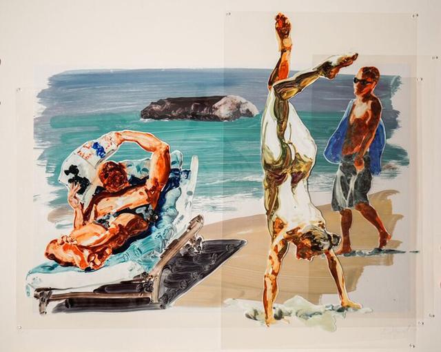 , 'Handstand,' 2017, William Campbell Contemporary Art, Inc.
