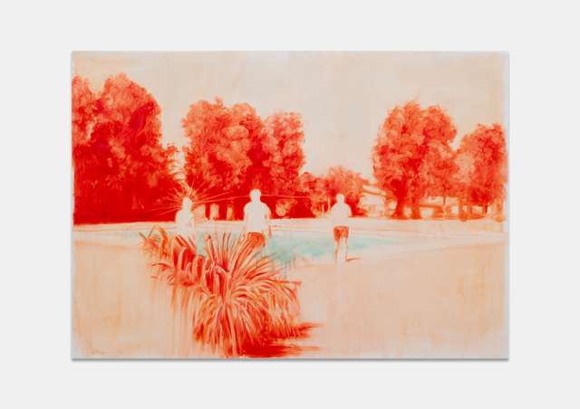 Ruby Swinney, 'A Long Afternoon', 2019, Painting, Oil on tracing paper, WHATIFTHEWORLD