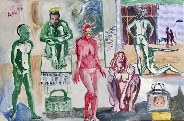 , 'Gimme gimme gimme the handbag,' 2017, Absolut Art Gallery