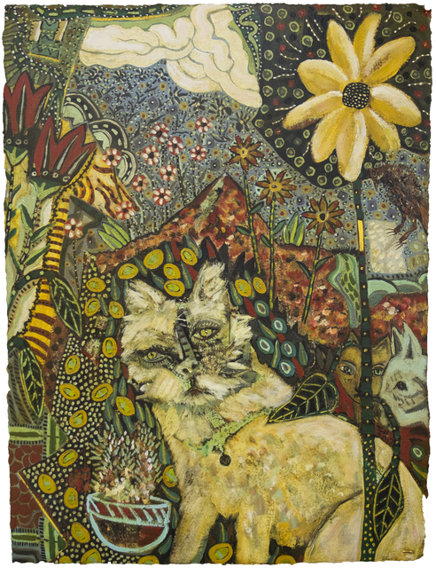 , 'Flower & Mountain,' 2017, Patricia Rovzar Gallery