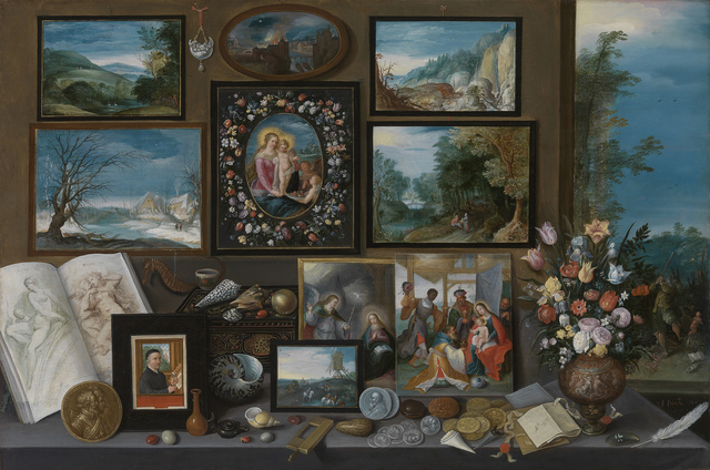 , 'A Collection,' 1619, Koninklijk Royal Museum of Fine Arts