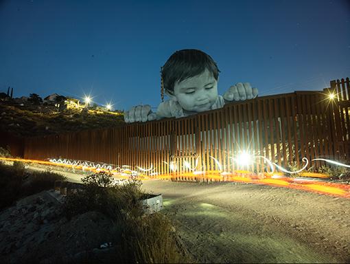 , 'GIANTS, Kikito, September 6, 2017, 9.41 p.m., Tecate, Mexico - USA,' 2017, Pace/MacGill Gallery
