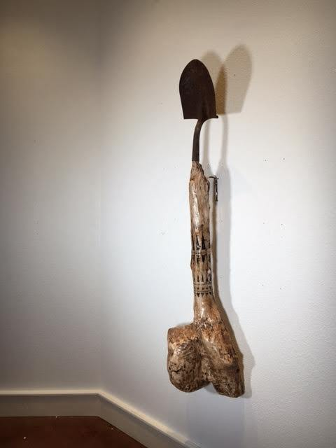 , 'Dinosaur Bone Fertility Shovel,' , Ro2 Art