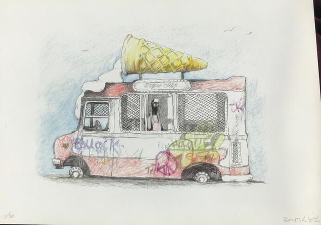 Banksy, 'Ice Cream Van (Signed Gift Print)', ca. 2009, Prescription Art