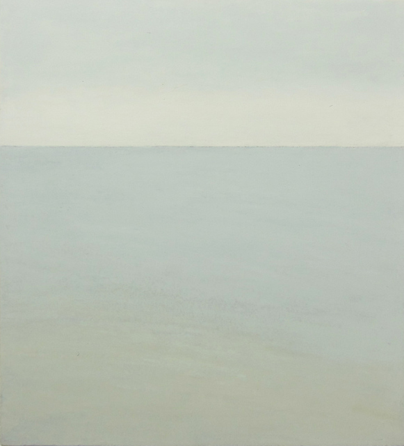 , 'gray sky, gray sea,' 2000, Albert Merola Gallery