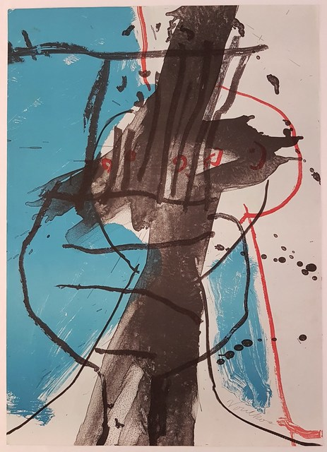 Peter Voulkos, 'Untitled', ca. 1979, Print, Lithograph, Cerbera Gallery