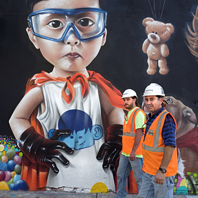 , 'Two Construction Workers, Bushwick ,' , Soho Photo Gallery