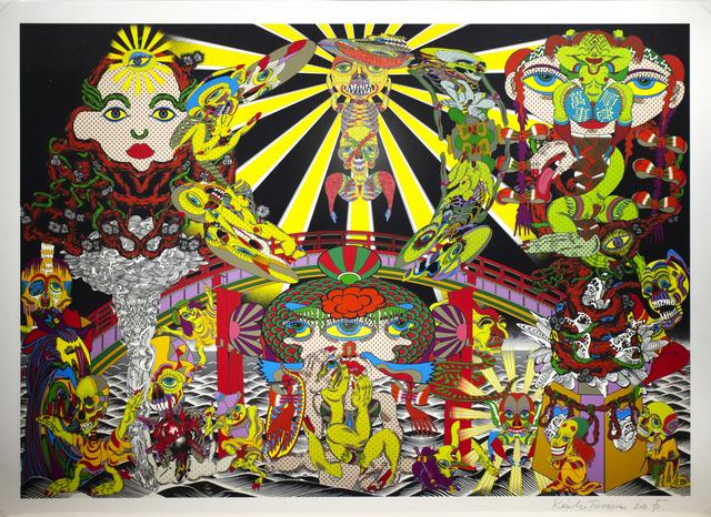 , 'Lost and wandering Bridge # 3,' 2012, Minnano Gallery