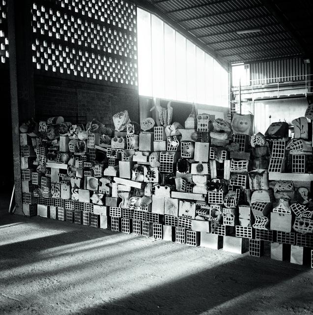 , 'Grand Mur de Têtes,' 2015, Musée Picasso Paris