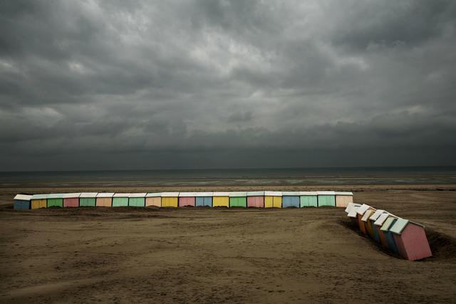 , ' Harry Gruyaert View profile FRANCE. Nord-Pas-de-Calais region. Pas-de-Calais departement. Berck beach,' 2007, Magnum Photos
