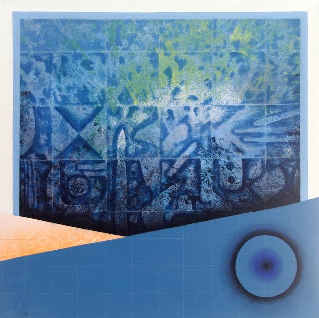 Mahmood Naaz Khan, 'Untitled ', 2020, Painting, Acrylic on canvas, Arushi Arts