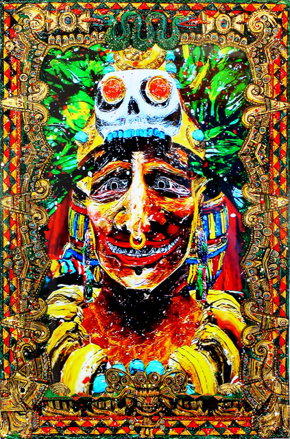 , 'His Angry Lord (Montezuma – Aztec),' 2015, Postmasters Gallery