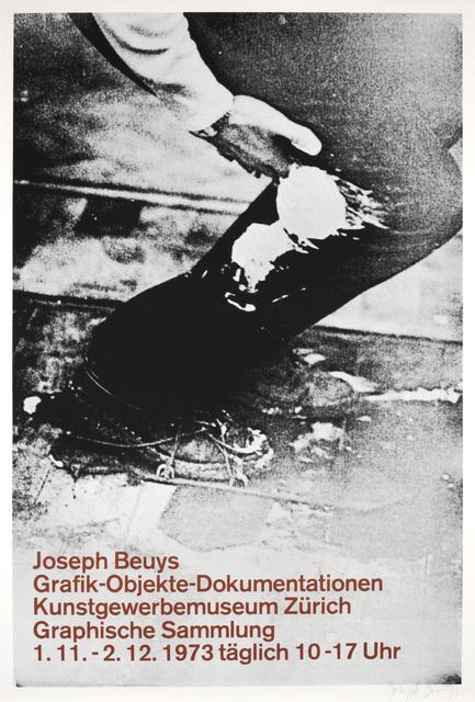 Joseph Beuys, 'Graphik - Objekte - Dokumentationen Poster', 1973, Benjamin Ogilvy Projects