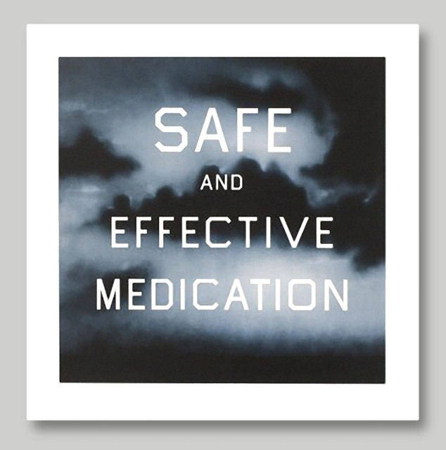 Ed Ruscha, 'Safe & Effective Medication', 2002, Dru Arstark Fine Art