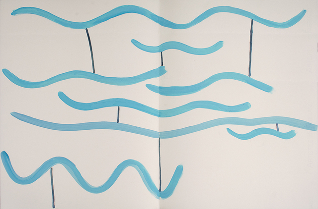 , 'Blue Lagoon (3),' 2016/2017, Anglim Gilbert Gallery