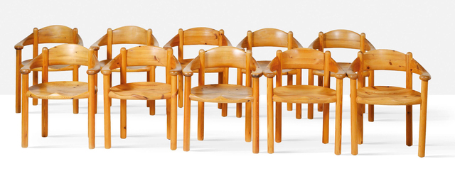 Rainer Daumiller, 'Set of 10 armchairs', 1977, Aguttes