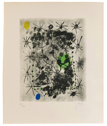 Lithograph II (from the Constellations suite)