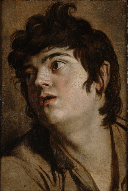 Peter Paul Rubens, 'Head of a Young Man', 1601, Blanton Museum of Art