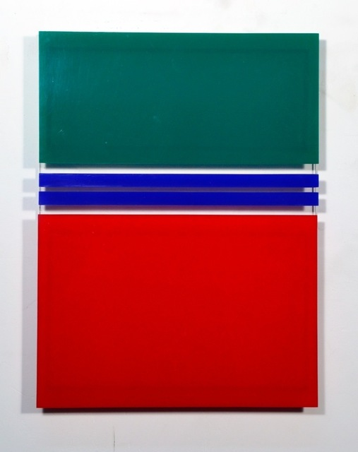 , '2 líneas azules,' 1981, Henrique Faria Fine Art