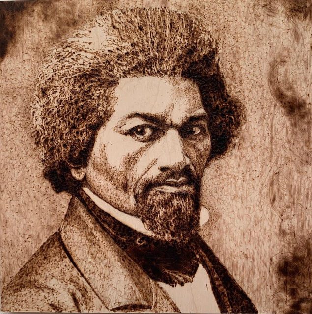 Nancy Lunsford, 'Frederick Douglass', 2018, 440 Gallery
