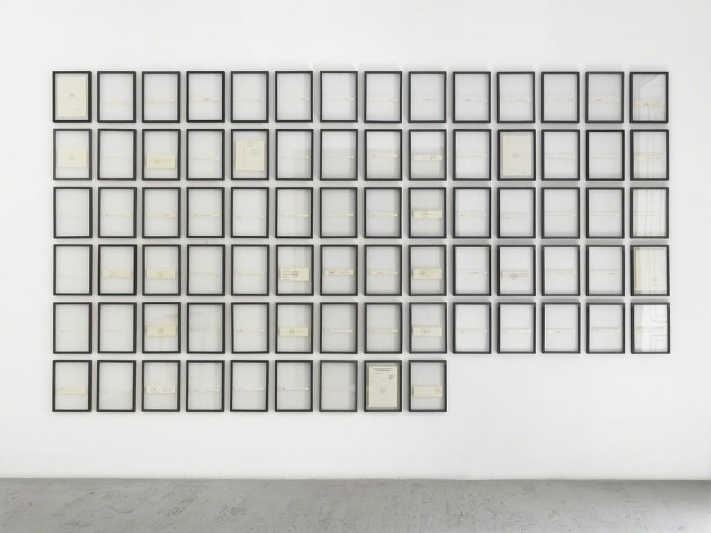Joseph Beuys - partial view of the exhibition - September 2015 - Galleria Alfonso Artiaco, Napoli