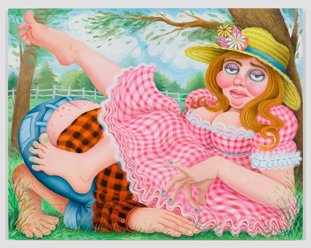 , 'Boring Cunnilingus,' 2019, Asya Geisberg Gallery