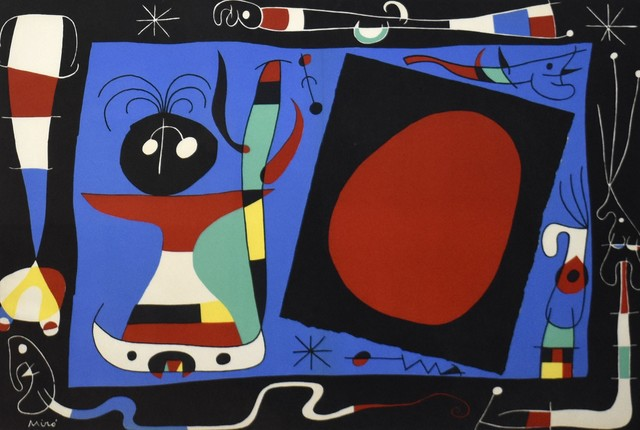 Joan Miró, 'La Femme Au Miroir', 1957, Georgetown Frame Shoppe