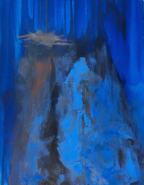 , 'Blue Dusk II,' , The Michael Thomas Collection