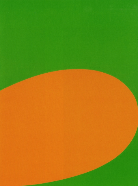 , 'Orange Green,' 1964, The Museum of Modern Art