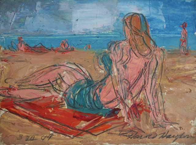 , 'Pacific Palisades, Cal (Beach Scene),' 1949, Richard Norton Gallery