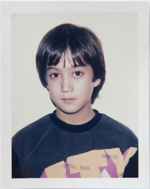 Andy Warhol, 'Andy Warhol, Polaroid Photograph of Sean Lennon, 1985', 1985, Photography, Polaroid, Hedges Projects