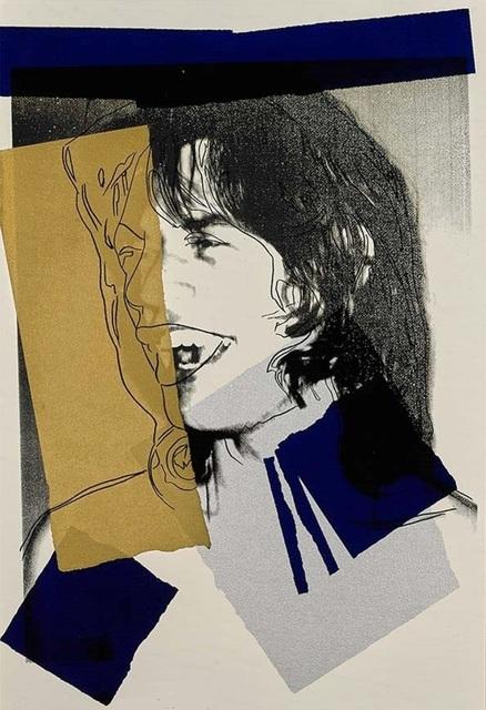 Andy Warhol, 'Jagger (F&S II.142)', 1975, Reuben Colley Fine Art