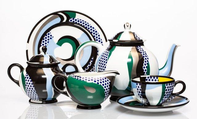 Roy Lichtenstein, 'Tea Set, set of six works', 1984, Heritage Auctions