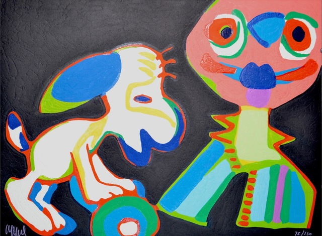Karel Appel, 'Circus suite, no. 18', 1978, Kunzt Gallery