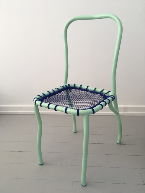 , 'Chair with Fishnet Seat,' 2018, Etage Projects