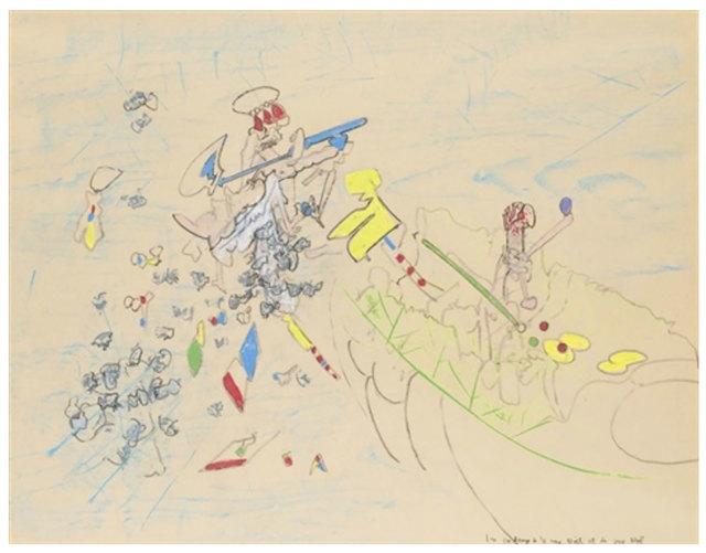 , 'Les cadeaux de la mère Noël et du père Noël,' 1968-1969, Robert Fontaine Gallery