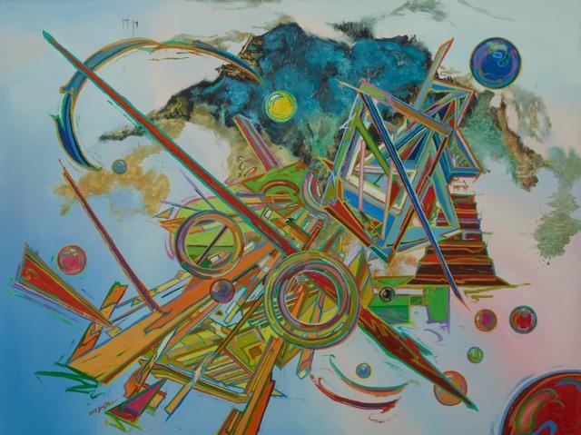 , 'Open String Closed String,' 2018, Aye Gallery